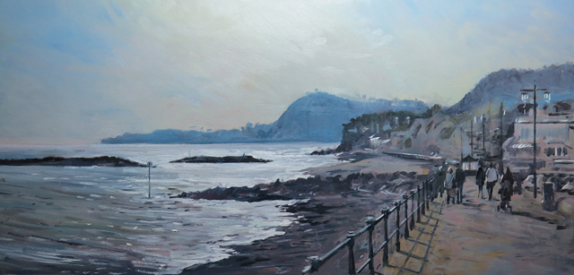 Sidmouth, late afternoon